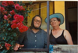 Photo: Malinkó Mihályné-Boris néni és lánya Borbála