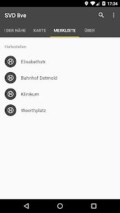 Fahrplan Stadtverkehr Detmold – SVD live - náhled