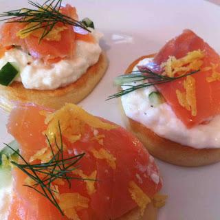 Smoked Salmon Pancakes Recipes
