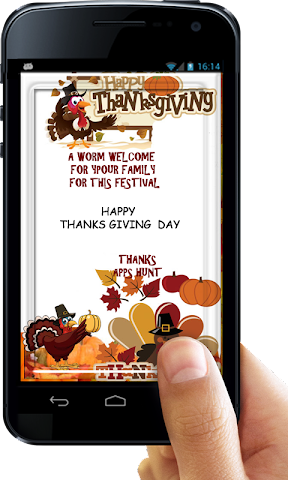android Thanksgiving Invitation Letter Screenshot 5