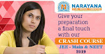 Join the JEE/NEET crash course only at Narayana