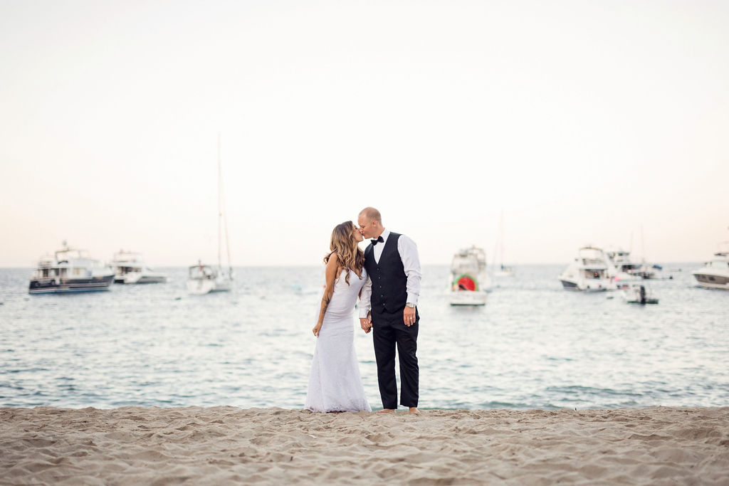 catalina wedding. avalon. descanso beach club wedding