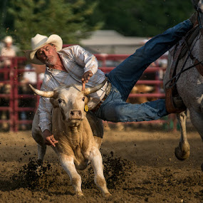by Bob Nospum - Sports & Fitness Rodeo/Bull Riding