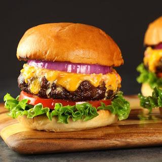 Easy Pimento Cheese and Bacon Burger.