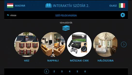 Olasz 2. interaktív szótár - náhled