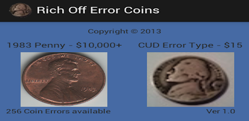 Rich Off Error Coins - Apps on Google Play