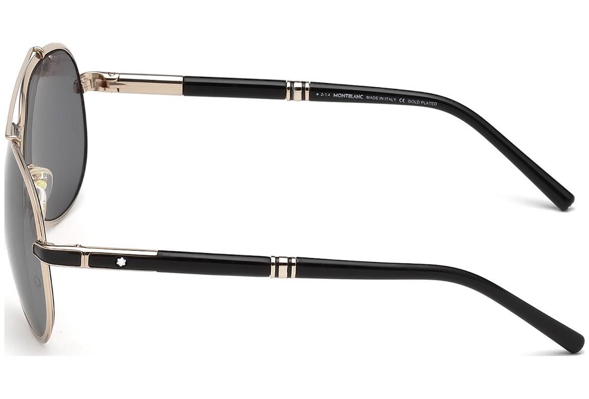 nouveaux styles 3f08f 54f80 Acheter Lunettes de soleil Montblanc MB526S C62 33D (gold ...