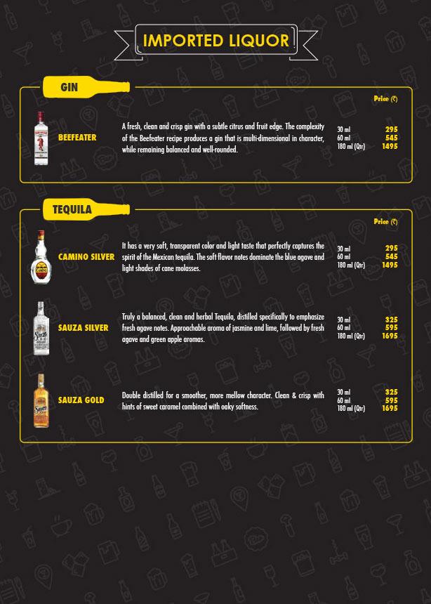 The Beer Cafe menu 14