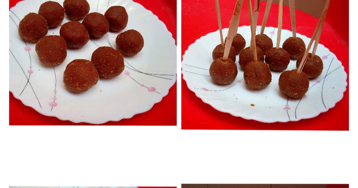 Turn left over cake into lollypops