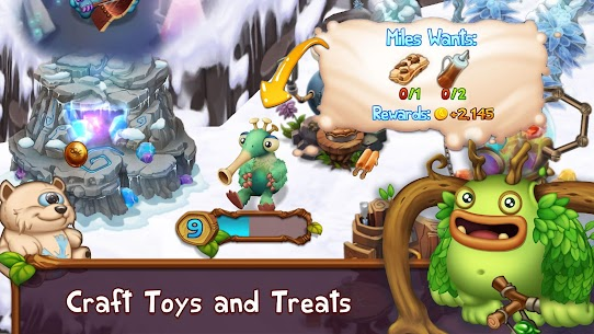 My Singing Monsters: Dawn of Fire 2.3.1 APK with Mod + Data 2