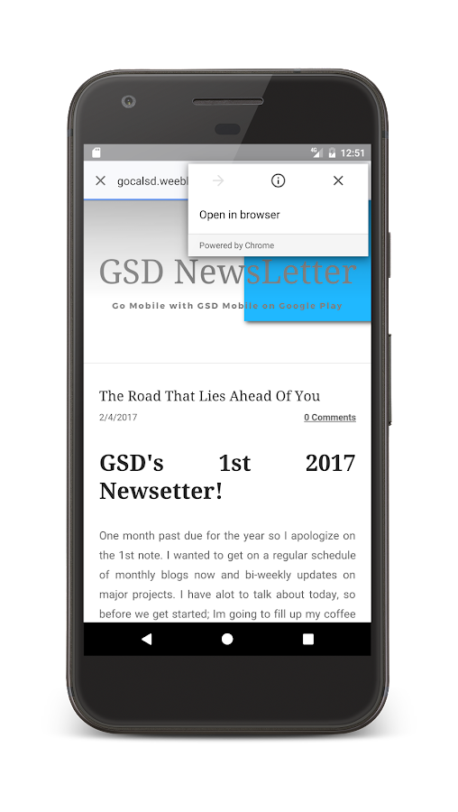 G.S.D. Mobile- screenshot
