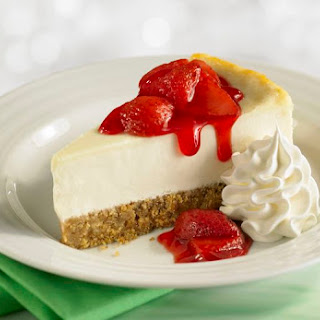 No-Bake Cheesecake With Almond Flour Crust.