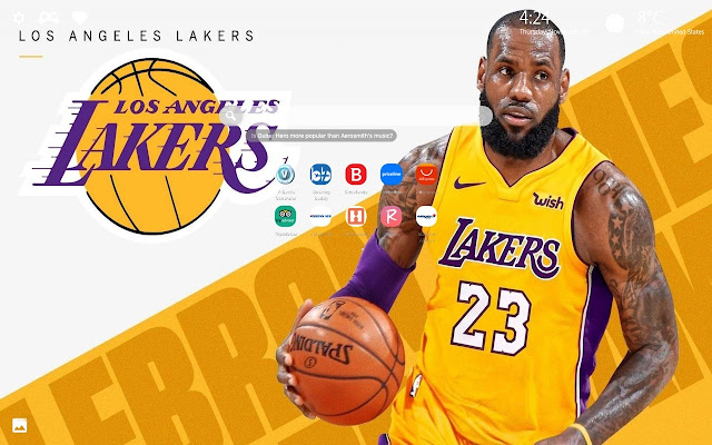 LeBron James Lakers Wallpapers HD New