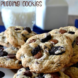 Oreo Pudding Cookies.