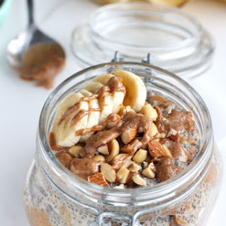 Dreamy Almond Butter Chia Pudding.