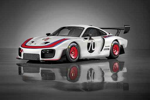 'Moby Dick' is reborn in the new Porsche 935 track car.