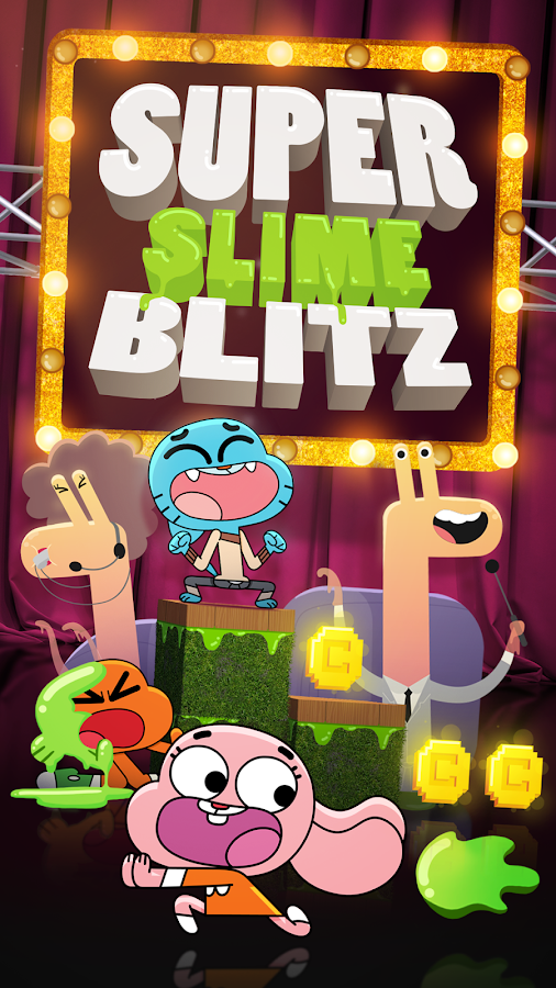 Super Slime Blitz - Gumball- screenshot