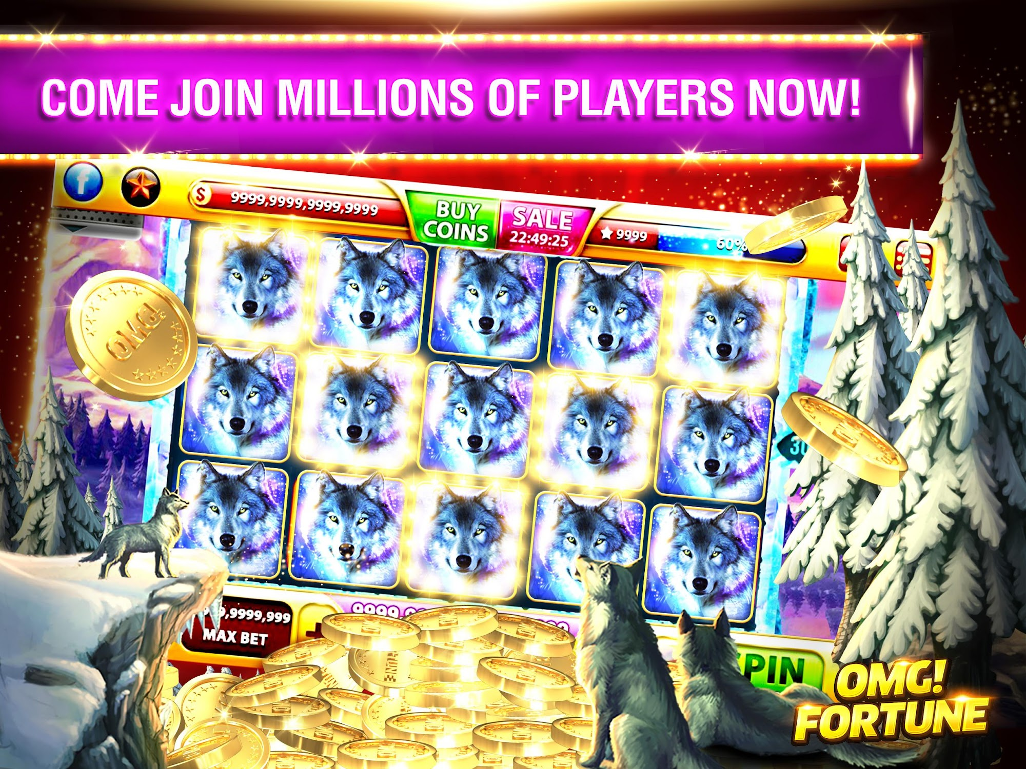 OMG! Fortune Free Slots Casino screenshot #7