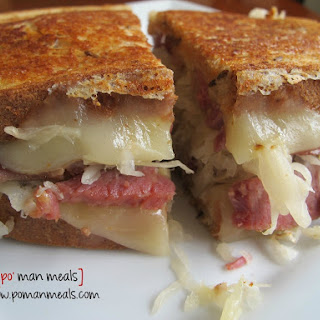 Cheesy Reuben Sandwich Recipe