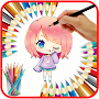 Chibi Coloring Book Characters APK icon