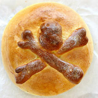 Pan de Muertos (Day of the Dead Bread).