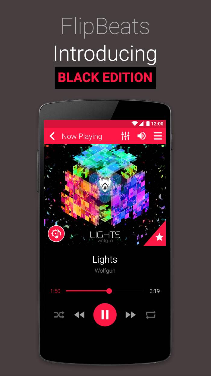 FlipBeats - Best Music Player Screenshot 0