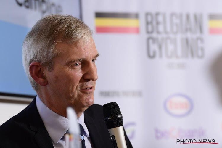 Belgian Cycling heeft vanaf 1 oktober een nieuwe directeur