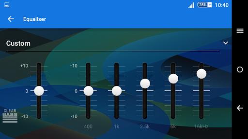 Pattern Blue Theme For Xperia screenshot 8