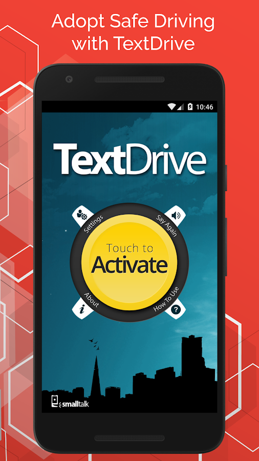 TextDrive - Autoresponder / No Texting App- screenshot