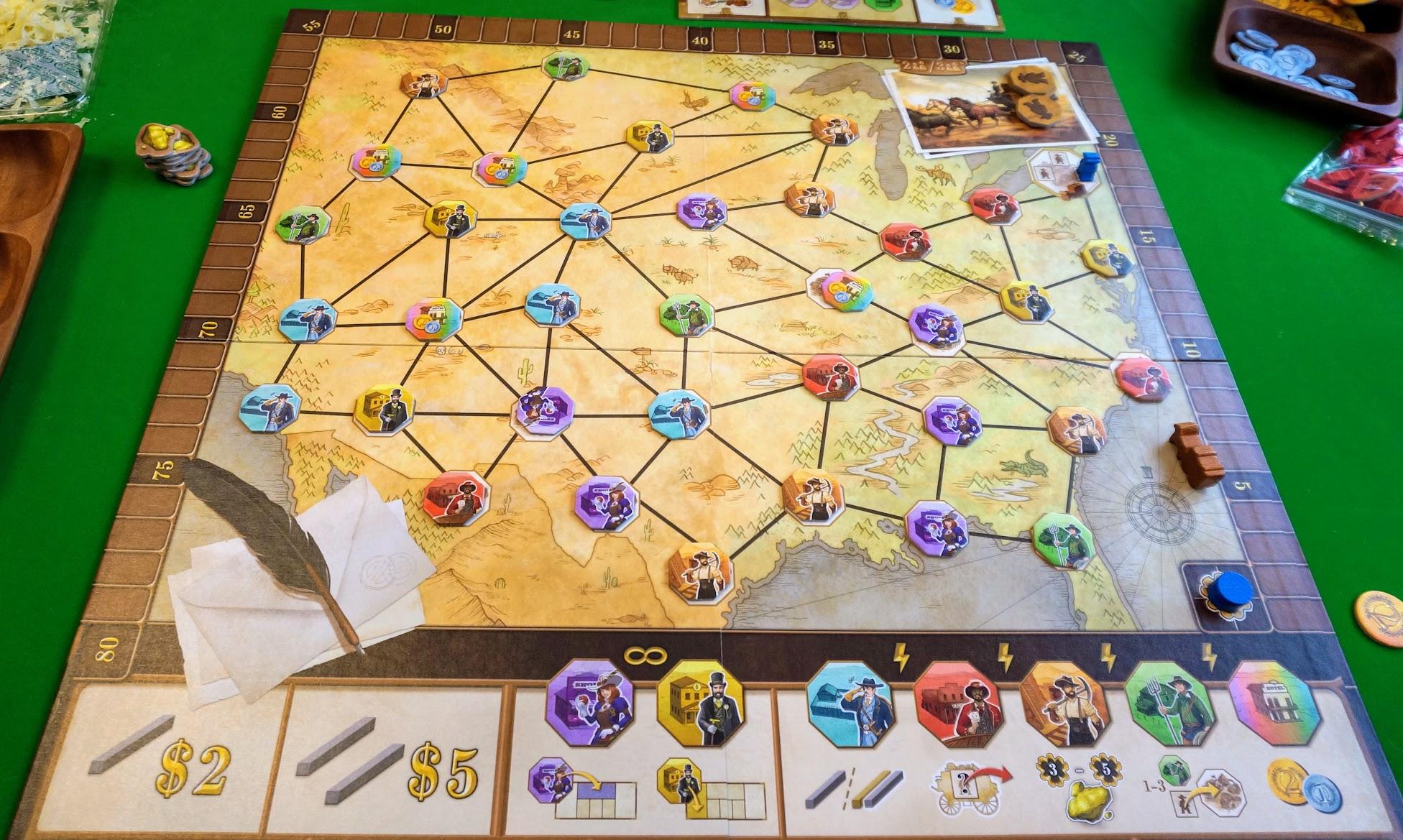 パイオニア:ゲームの準備