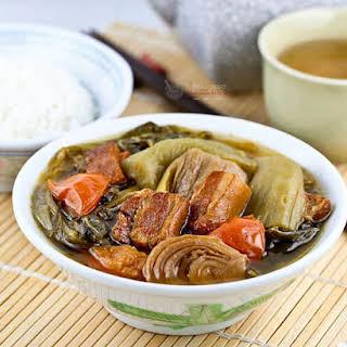 Chai Boey (Mustard Greens Stew).