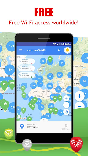 Free WiFi App: WiFi map, passwords, hotspots 6.21.02 screenshots 2
