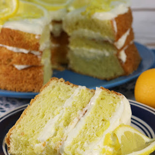 Just Like Olive Garden's Lemon Cream Cake