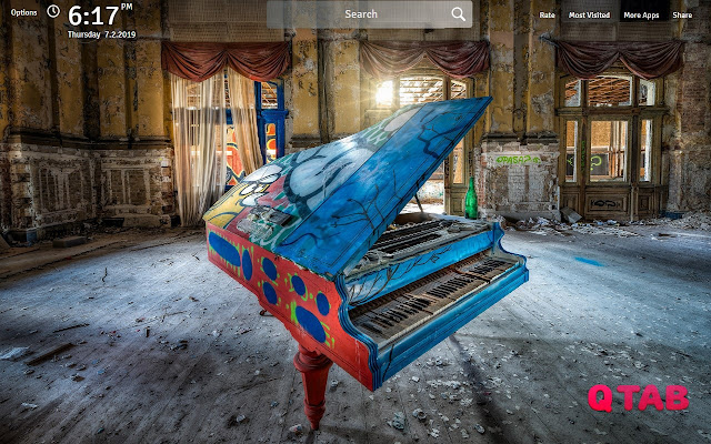 Piano Wallpapers Theme Piano New Tab