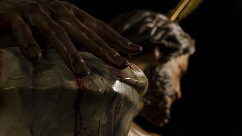 El Paso Negro de Pulpí bendice su nueva imagen del Cristo de la Humildad