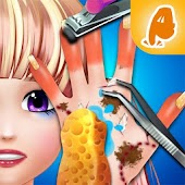 Hand Care Nail Salon for Beauty High School Girls