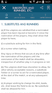 Official Laws of Cricket - náhled