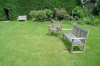 Photo: Back Garden Chairs