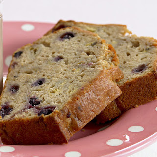 Banana and Blueberry Bread.