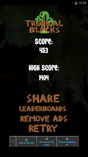 Tropical Blocks screenshot