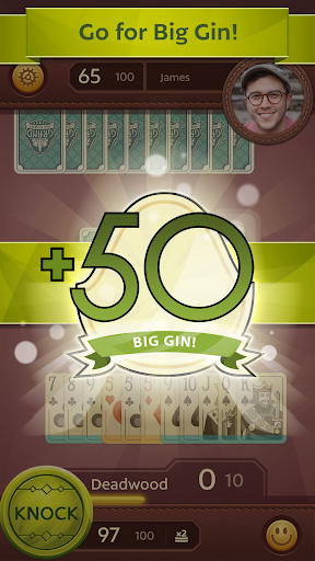 Grand Gin Rummy 2: The classic Gin Rummy Card Game 1.0.1 screenshots 2