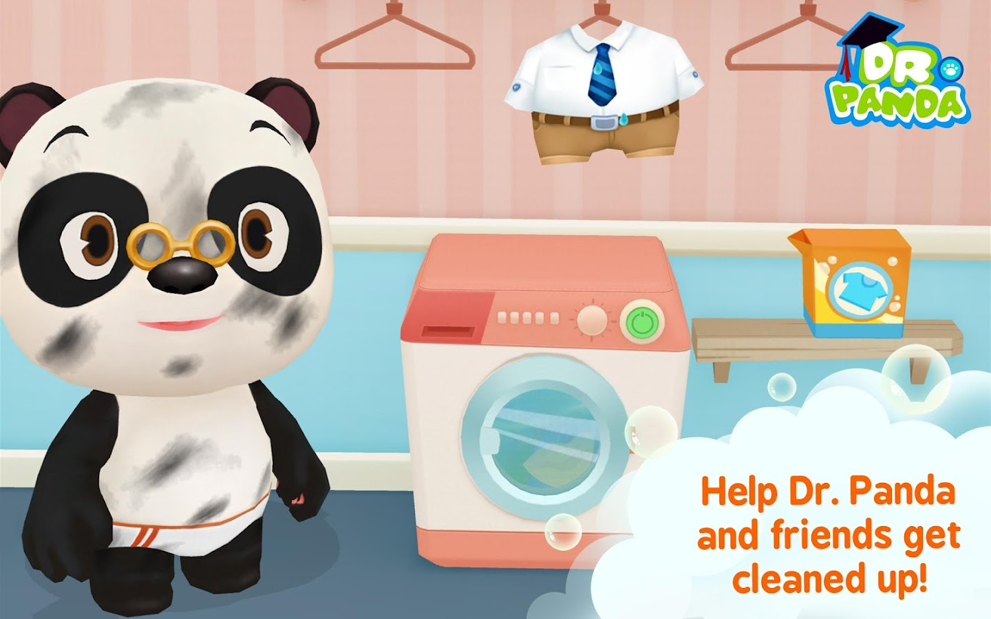Dr. Panda Bath Time- screenshot