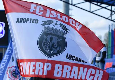 """Fantastisch! Antwerp-fan 'adopteert'... Wit-Russische club: """"Ze gebruiken zelfs mijn vlaggen tijdens de wedstrijden"""""""