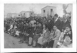 Photo: Entrega de títulos de dominio de nuestras casa en la población. 1941.