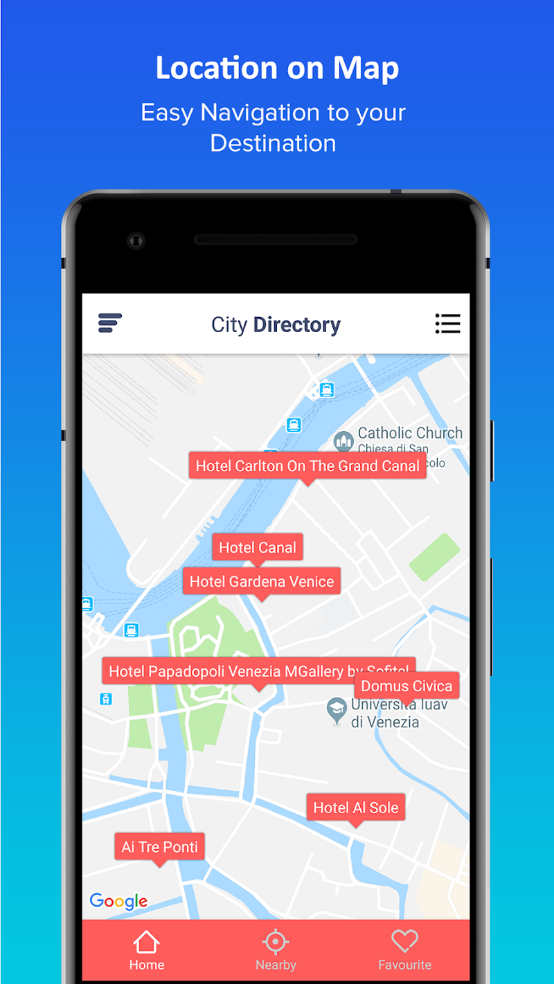 Скриншот Venice City Directory