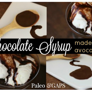 Pourable Chocolate Sauce made with Avocado Oil