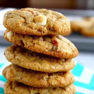 White Chocolate Pretzel Pecan Cookies