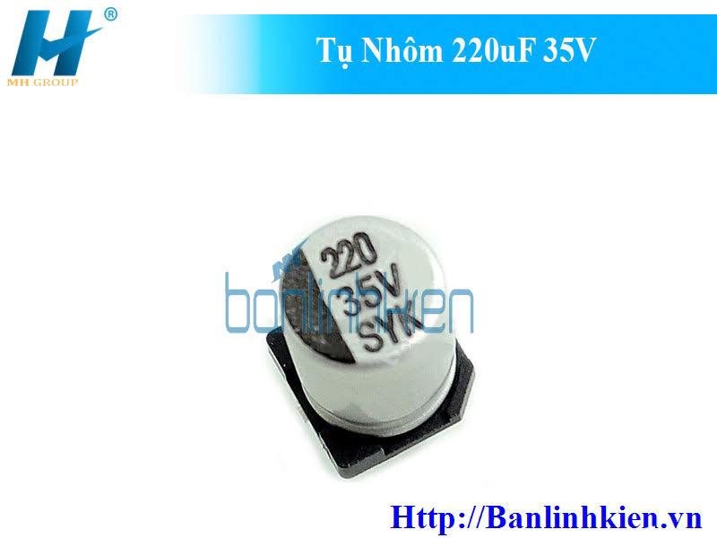 Tụ Nhôm 220uF 35V
