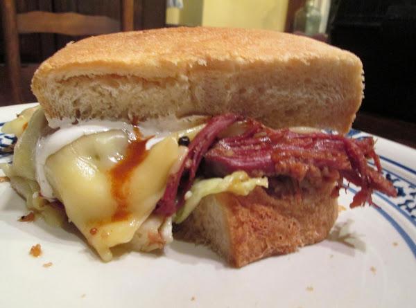 Cornbeef And Cabbage Sammie - The Best! Recipe