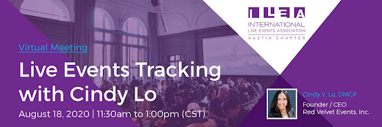 Live Events Tracking with Cindy Lo
